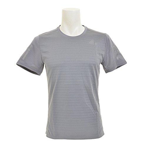 (アディダス) adidas ランニングウェア RESPONSE 半袖Tシャツ NDX88 [メンズ] NDX88 BP7421 グレー J/L