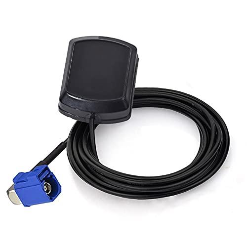 QIANGQIANG Very gondhh Aéreo de Automóvil Automóviles Personalizado GPS Antenna FAKRA C Fall FIT para MFD2 RNS2 RNS-E MFD Sat Nav Navegación de Seguimiento