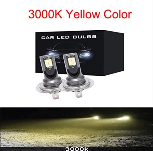 H7 Led Lampen Koplamp Leds 2 STKS H7 LED 12000LM/PAIR Mini Auto Mist Koplampen H1 LED H7 H8 H9 H11 Koplampen Kit 9005 HB3 9006 HB4 Auto LED Lampen H8 3000 k