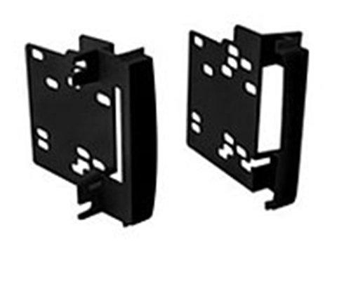 Autoleads DFP-02-04 Soporte Doble DIN para Radio de Coche, Negro