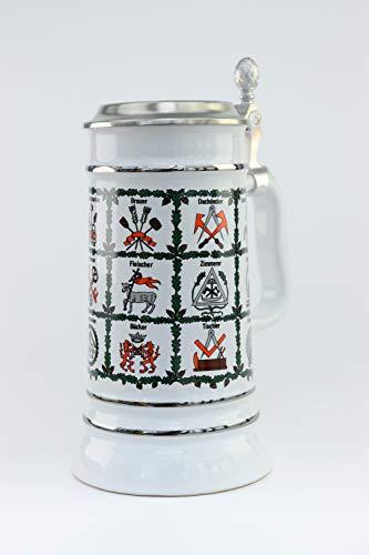Handwerk Zunft Bierseidel Bier Krug