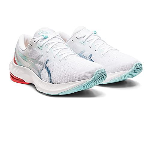 ASICS Gel-Pulse 13, Zapatillas de Running Mujer, White Grey Floss, 38 EU