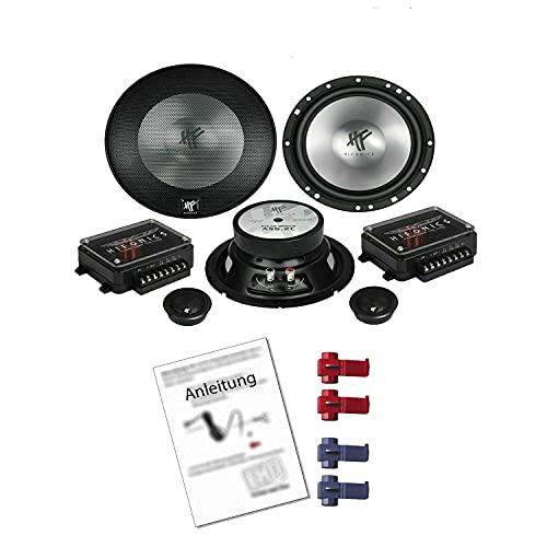 Hifonics AS 6.2C Lautsprecher mit Einbauset passend für VW Volkswagen Golf III...