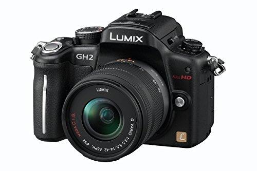 Panasonic Lumix DMC-GH2EG-K Systemkamera (16 Megapixel, 7,6 cm (3 Zoll) Display, bildstabilisiert) Gehäuse matt-schwarz