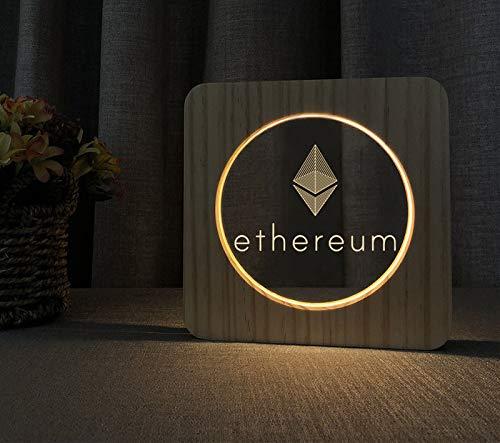 Lampe LED en bois au design ethérapeutique - Cadeau parfait pour les fans de Krypto