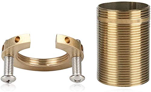 Tuerca de fijación de grifo, piezas de tuerca de tubo de latón roscadas de accesorios de grifo