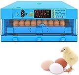 BYCDD Criador 36 Huevos Incubadora de Pollo Incubadora Pollo Pato Aves de Corral Automático para incubar Huevos de gallina,36 Eggs