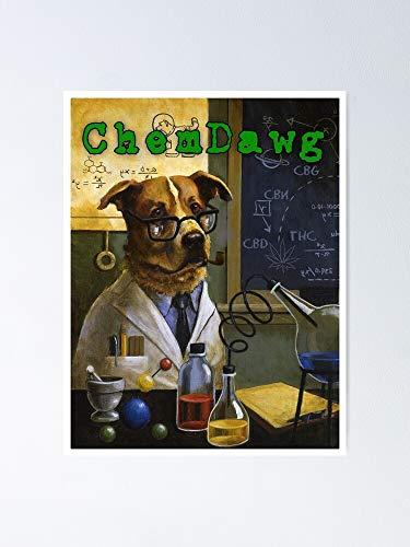 Situen Póster de Chem Dawg, para decoración de oficina, dormitorio, aula, gimnasia y bestias lgbt, vacaciones, gran arte de pared inspirador