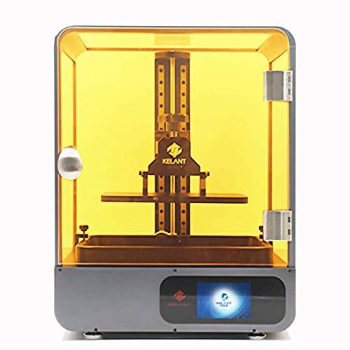 Kelant S500 4 K LCD Resina Stampante 3D 8.9 'Stampanti 3d UV SLA Impresora Kit Fai Da Te Ad Alta Velocità Stampa Size192*120 * 200MM