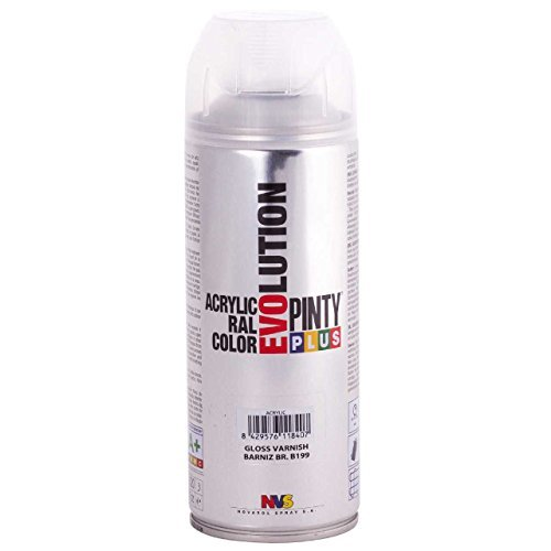 Evolution pinty color M123016 - Pintura spray acrilica 520 cc transparente brillante