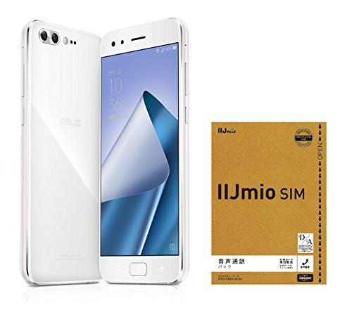 ASUS ZenFone4 Pro SIMフリー スマートフォン (ホワイト/5.5インチ)【日本正規代理店品】(オクタコアCPU/6GB/128GB/3600mAh) ZS551KL-BK128S6/A ZS551KL-WH128S6/A