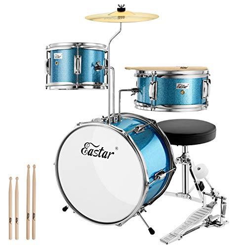 """Eastar Schlagzeug 14\"""" 3-teilig, Kinder für 3-10 Jahre"""