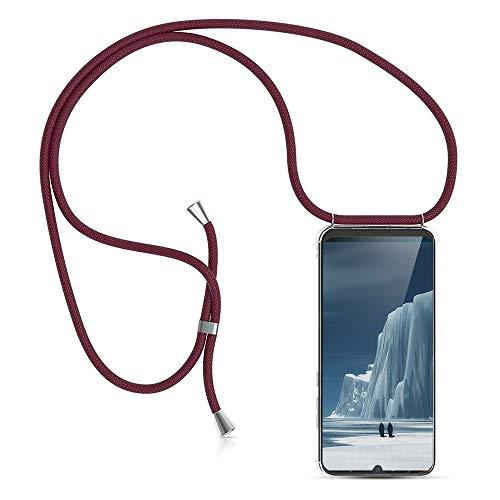 XCYYOO Carcasa de movil con Cuerda para Colgar Huawei P30 Pro【Versión Popular 2019】 Funda para iPhone/Samsung/Huawei con Correa Colgante para Llevar en el Cuello -Hecho a Mano en Berlin