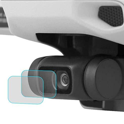 Kamera Linse Schutzfolie, kompatibel mit Drohnen Modell DJI Mavic Mini und Mini 2, 2er Set, kristallklar, 9H Panzerglas, Kamera Schutz Drohne, Schutzfolie für DJI Mavic Mini Drone, Kamera Linse Schutz