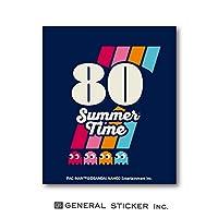 パックマン ステッカー PAC-MAN 80 Summer Time ダイカット ゲーム キャラクター ライセンス商品 LCS1085 gs グッズ