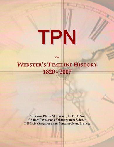 TPN: Webster's Timeline History, 1820 - 2007