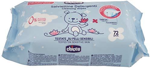 Chicco Salviette Detergenti, 72 Pezzi, No Flip Cover