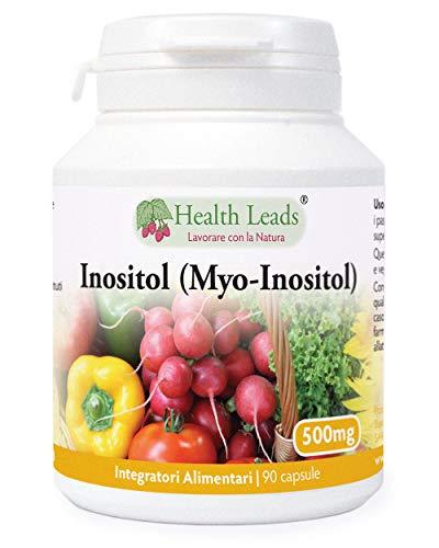 Inositol (Myo-Inositol) 500mg 90 capsule