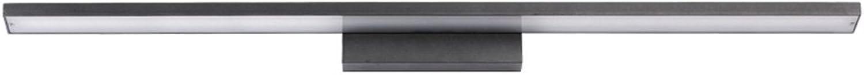 Spiegelleuchte, GORICH LED Spiegellampe aus Hardware Aminium Acryl,Nordeuropa-Stil Badlampe Wandleuchte,für Badezimmer, Schminktisch, Schlafzimmer (warmwei, 40cm wei)