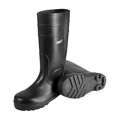 "TINGLEY 31151.10 31151 15"" General Purpose PVC Work Boots, Black, 10"