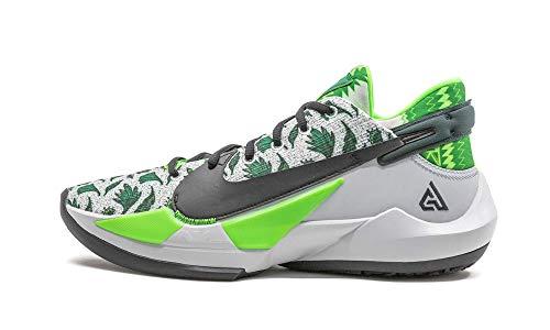 Nike Zapatos Hombre Zoom Freak 2 Naija DA0907-002, (Platino puro/Negro pino-verde), 44.5 EU
