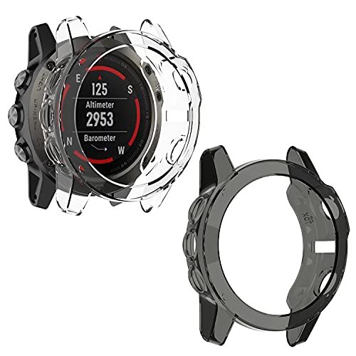orologio garmin fenix 5 Braleto 2 Pack Cover per Garmin Fenix 5X