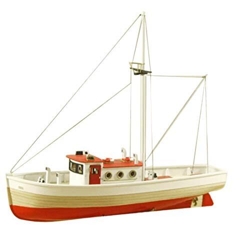 Teakpeak Maqueta Puzzle 3D, Madera para Maquetas de Barcos Madera -1/66 Barco de Vela Madera-Maquetas para Montar y Pintar de Madera Adultos y Niños - Naxos