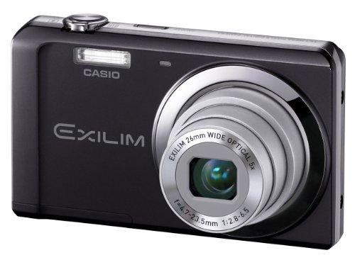 Casio Exilim EX-ZS5 Digitalkamera (14 Megapixel, 5-fach opt. Zoom, 6,9 cm (2,7 Zoll) Display) schwarz