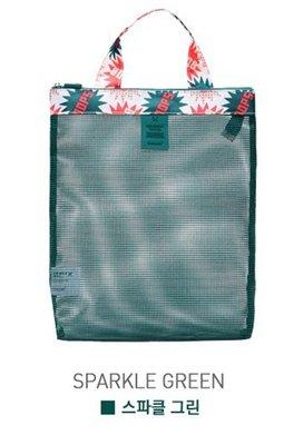 MZP Pochette maille Voyage paquet d'admission sac sac Fitness Voyage natation sac sac à chaussures de plage , flashing green bag