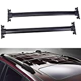 JUEDIMA Black Roof Rack Cross Bars Replacement for 2008 2009 2010 2011 2012 2013 Highlander,Rooftop Luggage Crossbars