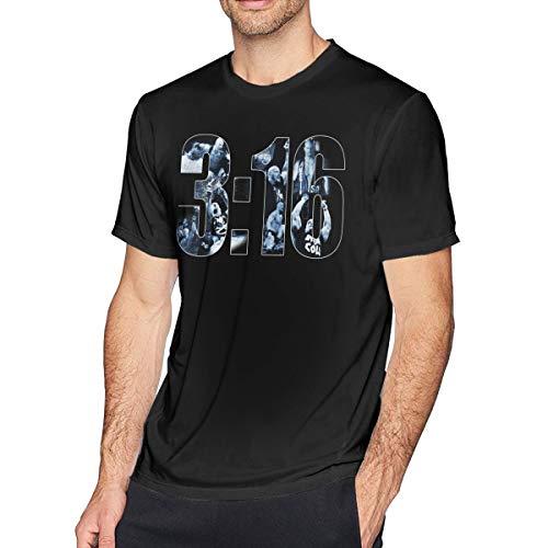 Zuanta Caartawe Austin Short Sleeve T-Shirt Black 5XL
