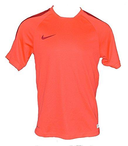 of nike soccer shirts Nike Men's Select Flash Soccer Football Short-Sleeve Dri-Fit Shirt Medium Light Crimson