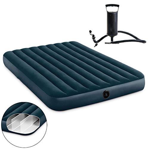 LPWCAWL Luftmatratze, Aufblasbare Camping Matratze, Tragbares Feuchtigkeitsbeständiges Luftkissenbett mit Handpumpe, 76X191 cm, Geeignet für Camping/Wandern/Strand