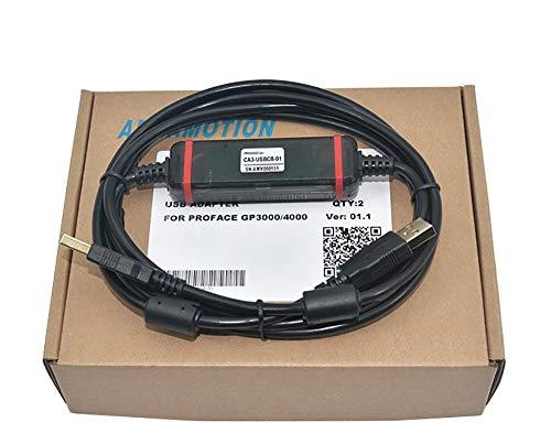 CA3-USBCB-01 ケーブル シーケンサー GP画面転送ケーブル 適用する Proface GP3000/ST3000/LT3000/GT3400シリーズ タッチパネル
