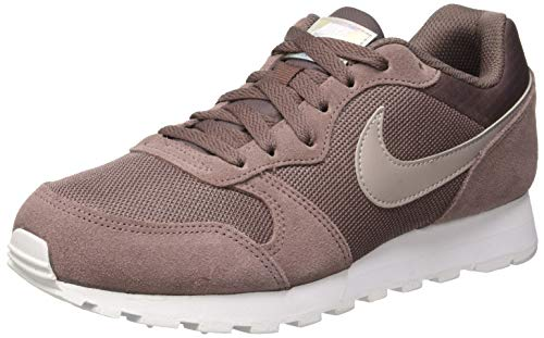 Nike MD Runner 2, Zapatillas de Running Mujer, Multicolor (Plum Eclipse/Pumice/White 200), 41 EU