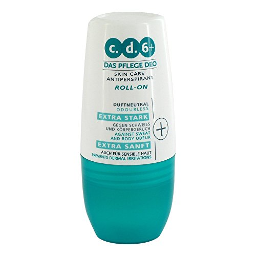 c.d.6+ Deo-Pflege Roll-on, 60 ml