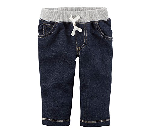 Carter's Baby Boys' Denim Pants 3 Months Blue