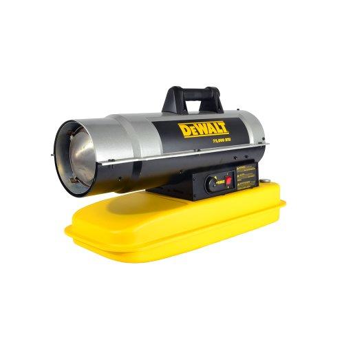 DeWalt F340675  DXH75KT Kerosene Heater, 75K BTU,Yellow