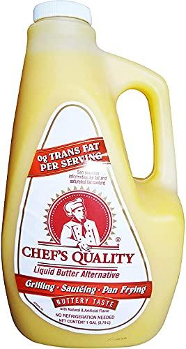 Chef's Quality Alternative Liquid Butter 1 Gallon