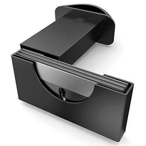 Mansons Rasqueta vitroceramica - Rascador de vidrio y vitrocerámica - Raspador especial para Vitro-Cerámicas y Placas de Inducción- con 15 piezas Acero Cuchillas (Amarillo)