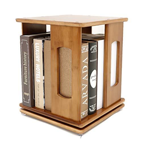 Bibliothèque Bibliothèque de bureau, bibliothèque pivotante simple à 360 degrés (Size : 1-tier)