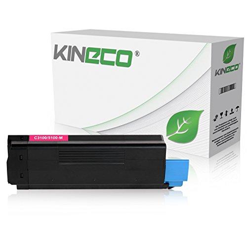 Toner kompatibel zu Oki C3100, C3200, C5100, C5200, C5250, C5300, C5400, C5450, C5510-42804514 - Magenta 6.000 Seiten