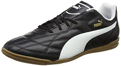 Puma Puma Herren Classico IT Fußballschuhe, Schwarz (Black-White Gold 01), 40 EU