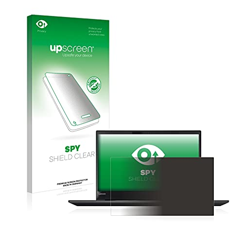 upscreen Anti-Spy Blickschutzfolie kompatibel mit Lenovo ThinkPad T570 Privacy Screen Sichtschutz Bildschirmschutz-Folie