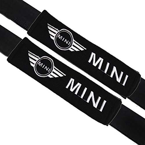 VILLSION 2Pack Auto Gurtpolster Sicherheitsgurt Bügel Gurtschutz Weiche Baumwolle Schützen Sie Ihren Hals Schulter Polster