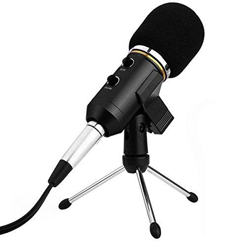 Micrófono de Condensador Archeer USB | Dispositivo con cable USB, ideal para cualquier PC.