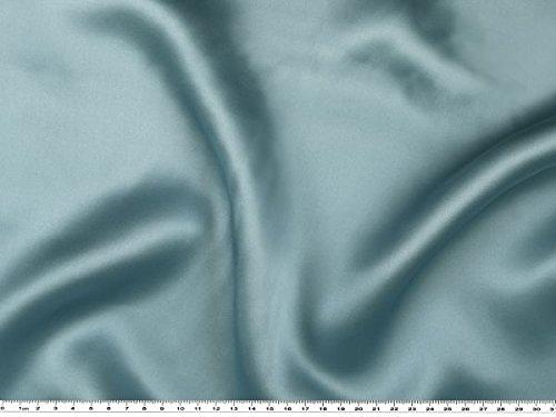 Reiner Seidensatin, hellblau, 140cm