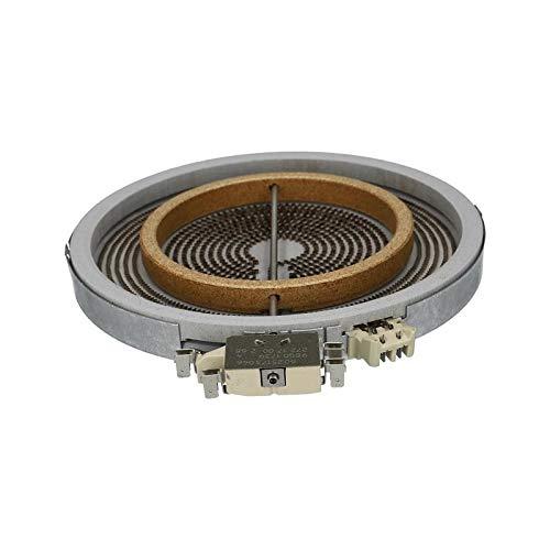 Tweecircuitstraler 2200W 1000W glaskeramische kookplaat voor Bosch 00356337 EGO 10.51213.432 Electrolux 405506778/1