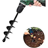 SuperThinker Auger Drill Bit for Planting Bulb Seedlings