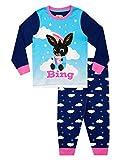 Bing Pigiama a Maniche Lunghe per Ragazze Blu 3-4 Anni